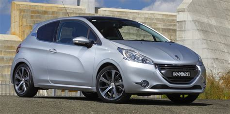 peugeot 208 specification peugeot 208 pricing and specifications released
