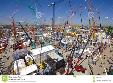 a place for all architecture and the fair society books trade fair for building machines editorial stock photo