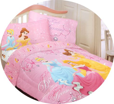 4pc disney princess fairy tale twin bedding set