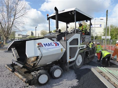growing reputation secures    volvo pavers  mac surfacing  cea construction