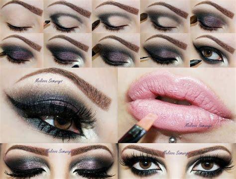 tutorial eyeshadow brown smokey eyeshadow tutorial for brown eyes