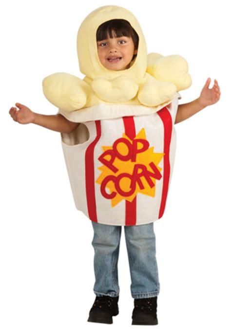 toddler buttery popcorn costume funny food kids costumes
