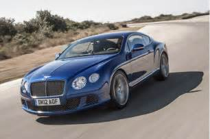 How Much Is Bentley Continental Gt 2013 Bentley Continental Gt Speed Priced From 220 725