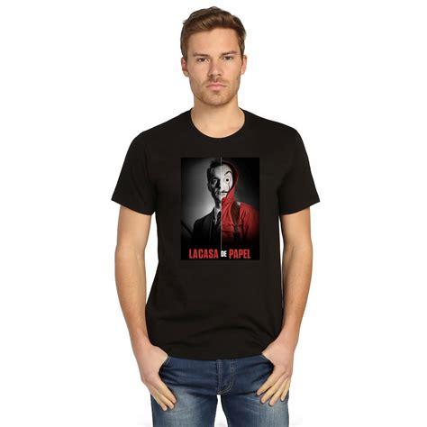 Gasa Tshirt la casa de papel berlin t shirt siyah unisex yer6 store