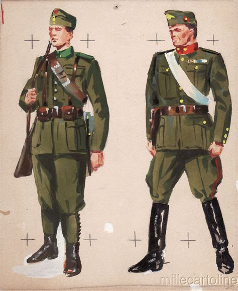 Army Original wwii original sketch army uniforms hungarian soldiers officer ebay