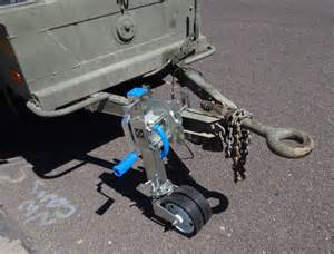 Truck Trailer Jockey Wheels The Jeep Expeditions Group Exploration Education