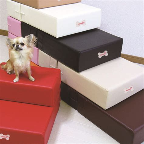 cat steps for bed pu leather pet cat dog bed stairs r mat for small dog