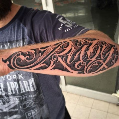 forearm lettering tattoo designs 110 awesome forearm tattoos forearm tattoos fonts and