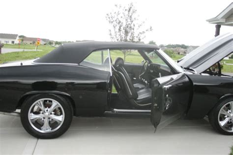 pontiac beaumont custom convertible black production