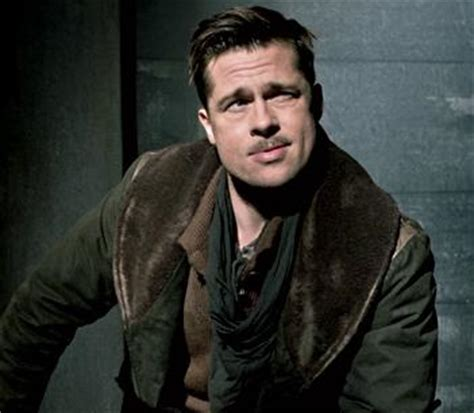 brad pitt haircut inglourious basterds brad pitt as lt aldo raine in inglourious basterds