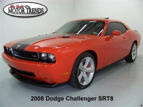 how to fix cars 2008 dodge challenger navigation system sell used 2008 dodge challenger srt 8 srt8 navigation roof hemi leather suede htd seats 5k in
