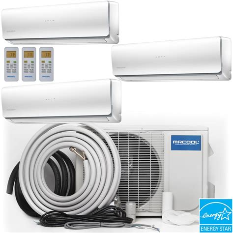 Mini Air 4 mrcool olympus 48 000 btu 4 ton ductless mini split air conditioner and heat 16 ft