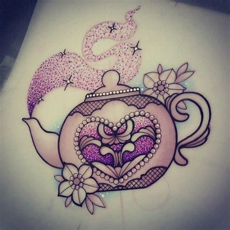 teapot tattoo designs sophieadamsontattoo sparkly teapot for sally