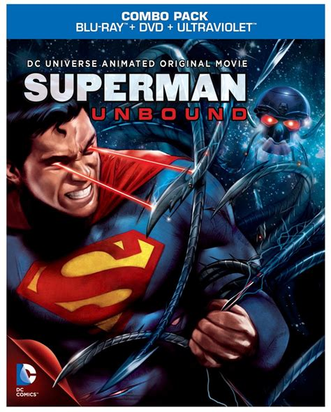 film the blu superman unbound review matt bomer voices superman in