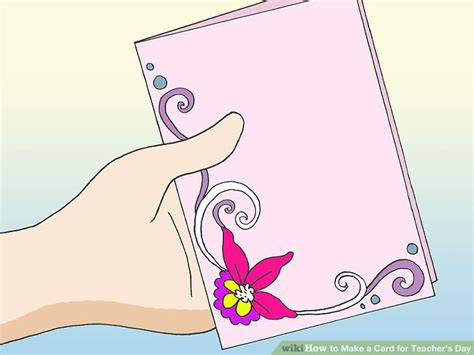 cards to make for teachers 5 ways to make a card for s day wikihow