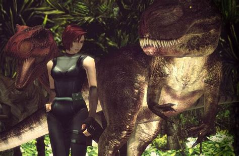 dino crisis  reboot   ps exclusive product