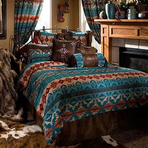 Cabelas Bedding Sets Turquoise Chamarro Southwestern Bedding