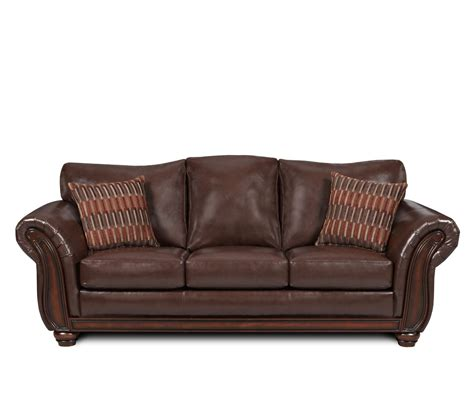 Leather Loveseat Sleeper Sofa Pleather Sofa Smalltowndjs