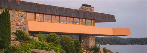 lloyd wright architecture frank lloyd wright designed private island on sale for 14