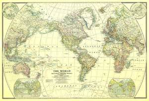 the map world map