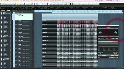 cubase drum pattern editor cubase 8 303 cubase 8 303 mix prep bass drum tracks