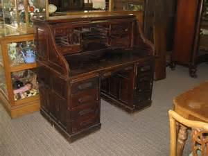 antique mahogany roll top desk antique furniture