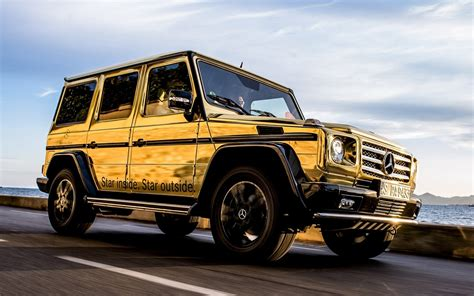 mercedes jeep gold mercedes benz g klasse festival de cannes mercedes jeep