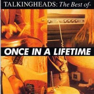 best talking heads album once in a lifetime the best of talking heads