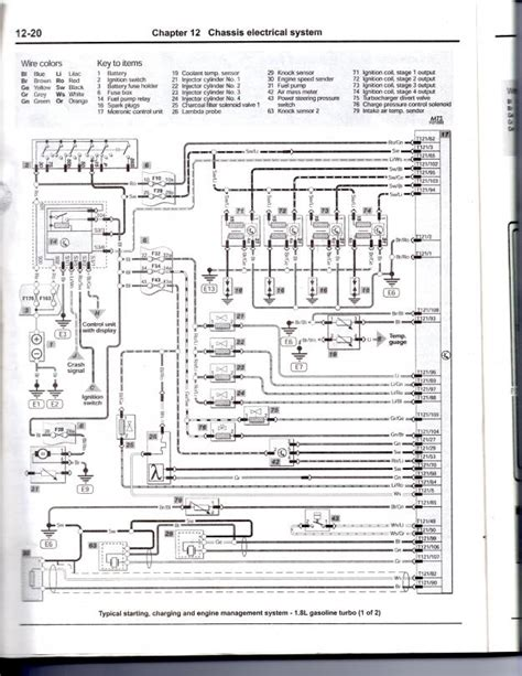 engine schematics wiring diagram for audi a4 and vw wiring