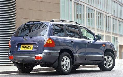 hyundai santa fe cost hyundai santa fe estate 2001 2005 running costs parkers