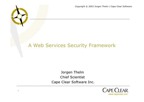 tutorial on web services web services security tutorial