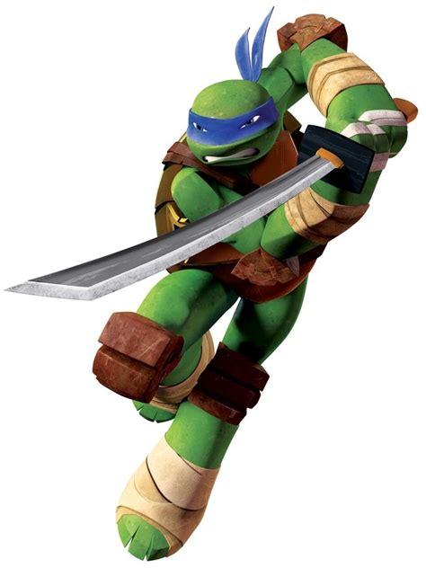 Easy Removable Wallpaper by New Giant Leonardo Wall Decals Teenage Mutant Ninja