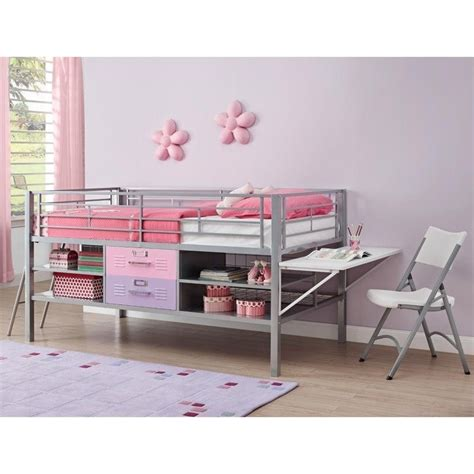 junior twin locker loft with shelves and storage red blue junior metal twin loft locker storage bed in purple and