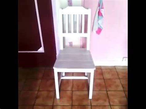 une chaise renover repeindre une chaise ik 233 a diy tuto youtube