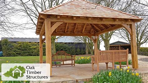 How To Build A Cabana Solid Oak Gazebos Oak Timber Structures