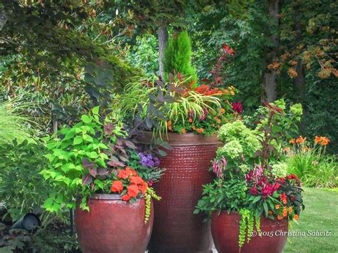 Garden In Pots Ideas Garden Containers Ideas Exhort Me