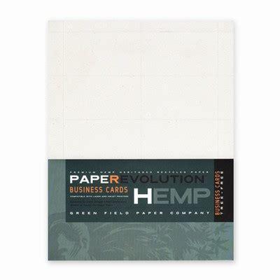 Hemp Business Cards