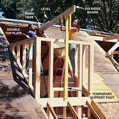 Domers Construction How To Frame A Gabled Dormer The Family Handyman House