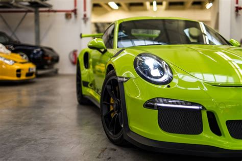 porsche gt3 green birch green porsche 911 gt3 rs by porsche exclusive gtspirit