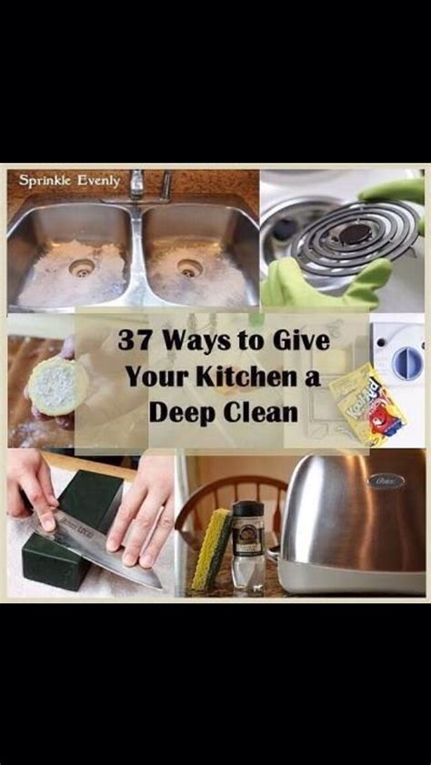 37 ways to deep clean the kitchen trusper spring cleaning 37 ways to give your kitchen a deep clean
