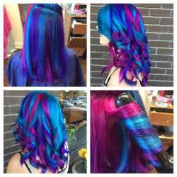 multi color hair dye multi colored pravana hair hair colors ideas