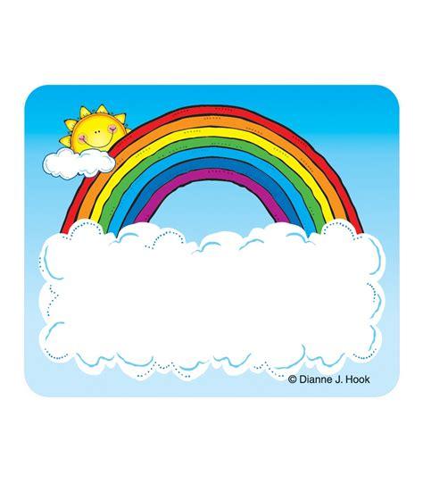 free printable rainbow name tags best photos of preschool name tag ideas name tags