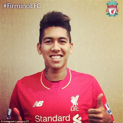 roberto firmino roberto firmino passes liverpool as 163 29m move to