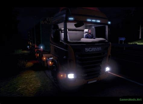 Scania Truck Cabin by Light In Cabin For Scania 187 Gamesmods Net Fs17 Cnc
