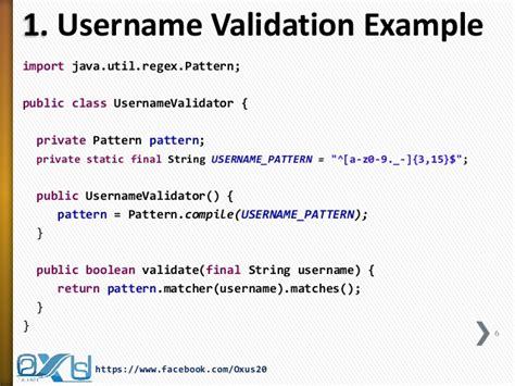 java pattern hyphen java regular expression part ii