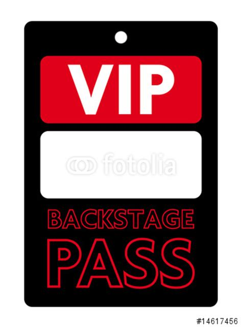 vip backstage pass template quot pass vip backstage quot stock image and royalty free vector