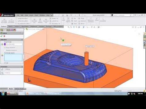 solidworks tutorial indent solidworks cavity y 246 ntemi ile kalıp oluşturma doovi