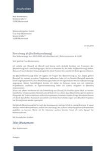 Vorlage Anschreiben Anlagen Bewerbungsvorlage 2017 Tabellarischer Lebenslauf