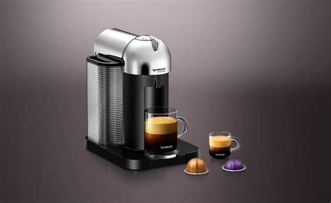 nespresso coffee vertuo chrome vertuo coffee machine nespresso usa