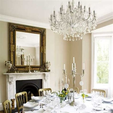 Best Dining Room Chandeliers Grand Chandelier Dining Rooms 10 Of The Best Housetohome Co Uk
